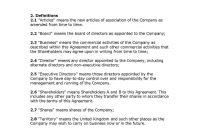 Shareholder Agreement  Templates Hunter in Shareholders Agreement Template For Small Business