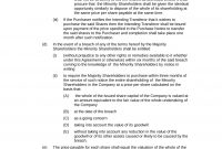 Shareholders Agreement Bundle  Download In Word with Minority Shareholder Agreement Template