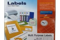 Shop Formtec Sheets Label Per Sheet Box  Labels Per Sheet Online In  Dubai Abu Dhabi And All Uae throughout 16 Per Page Label Template