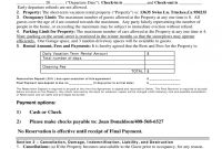Short Term Vacation Rental Agreement Form  California Rent And with Short Term Vacation Rental Agreement Template