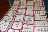 Shuffle Up  Deal A Deck Of Cards Book  Crafting Thru Theological for 52 Things I Love About You Deck Of Cards Template