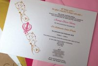 Sikh Faith Religious Invitations On Behance with Death Anniversary Cards Templates
