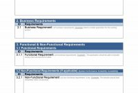 Simple Business Requirements Document Templates ᐅ Template Lab within Business Process Document Template