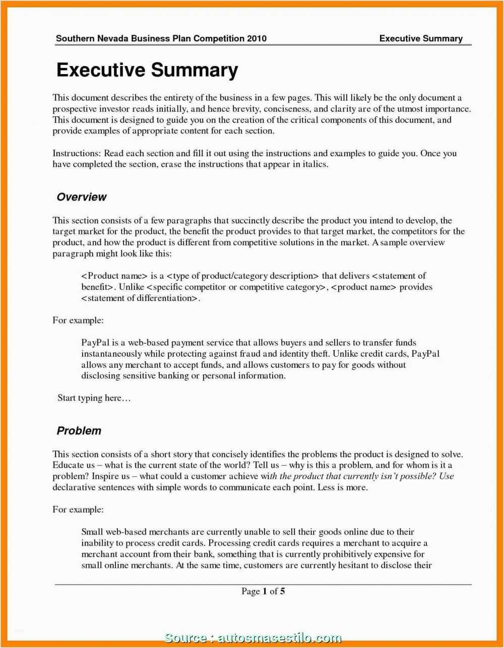 Simple Cyber Cafe Business Plan Template Pdf Ideas  Tiger Growl With Executive Summary Template For Business Plan