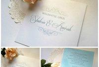 Simple Monogram Malay Handmade Wedding Invitation Card Craftyfarms with Sample Wedding Invitation Cards Templates