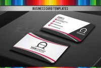 Simple Professional Business Card Design  Style   Codester inside Professional Name Card Template