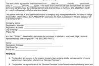 Simple Tenancy Agreement Templates  Pdf  Free  Premium Templates with Fixed Term Tenancy Agreement Template