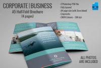 Single Fold Brochure Templates in Single Page Brochure Templates Psd