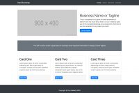 Small Business  Bootstrap Marketing Website Template  Start Bootstrap inside Small Business Website Templates Free