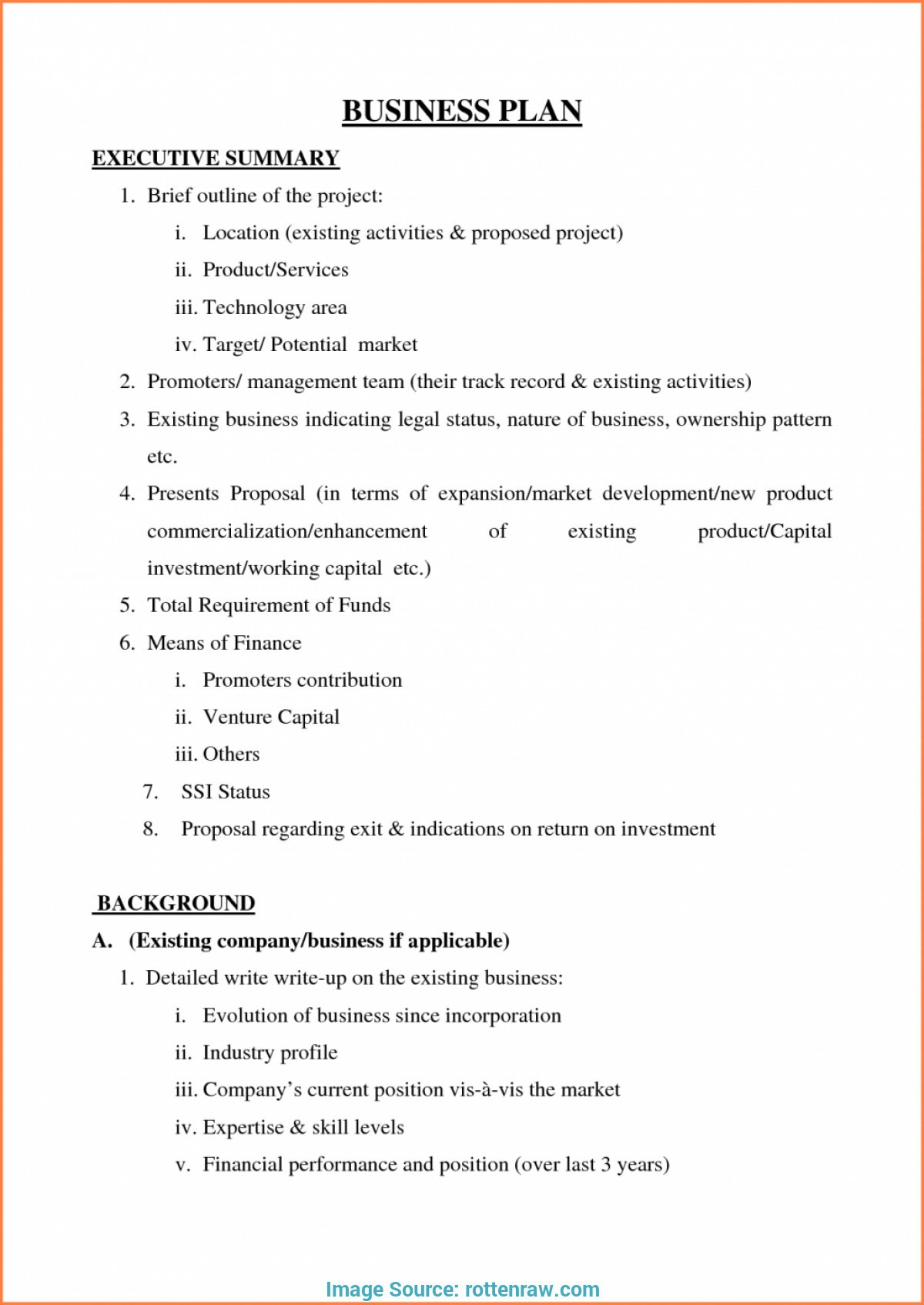 Small Business Plan Template Pdf Valid Simple Free Example Regarding Towing Business Plan Template