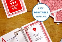 Small But Mighty Ways To Say I Love You  Anniversary Ideas with regard to 52 Things I Love About You Deck Of Cards Template