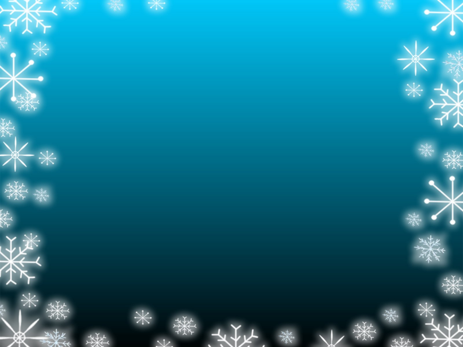 Snow Backgrounds  Ppt Grounds With Snow Powerpoint Template