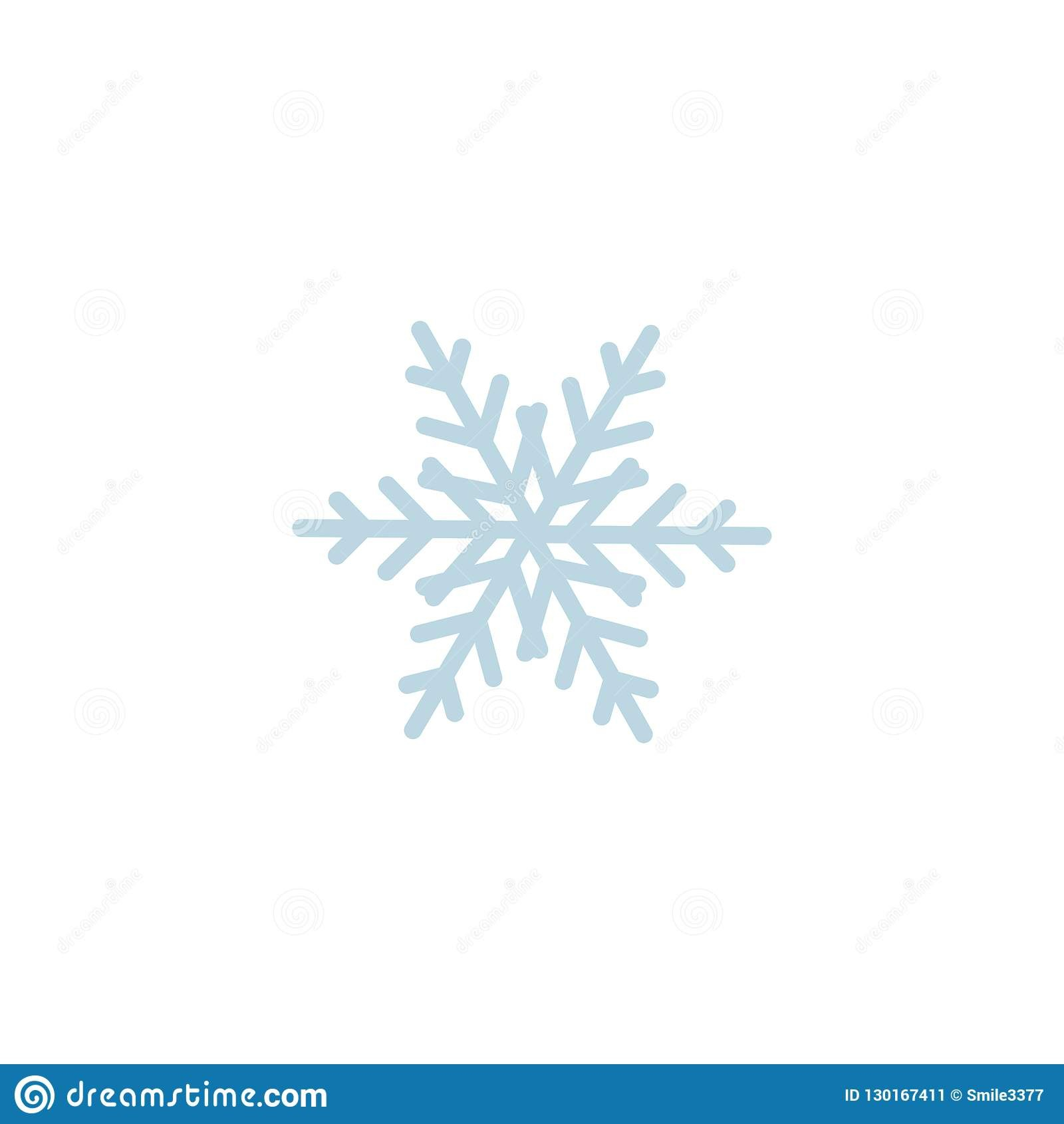 Snowflake Icon Template Christmas Snowflake On Blank Background Intended For Blank Snowflake Template