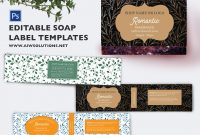 Soap Label Template Id  Aiwsolutions with Ingredient Label Template