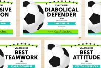 Soccer Award Ideas  Examples And Forms inside Soccer Award Certificate Template