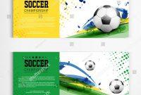 Soccer Tournament Modern Sport Banner Template Stockvektorgrafik pertaining to Sports Banner Templates