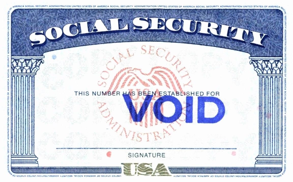 Social Security Card Template Pdf Beautiful Blank Social Security Intended For Social Security Card Template Free