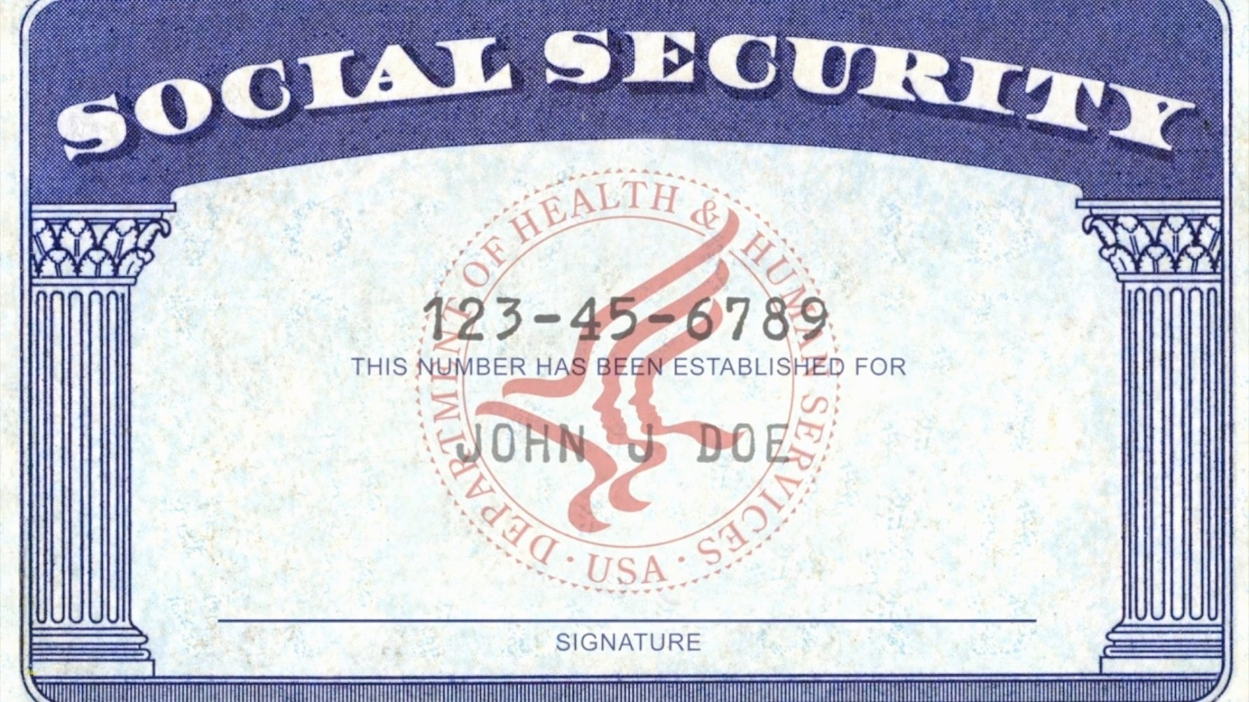 Social Security Card Template Pdf  Quick Tips Regarding Regarding Social Security Card Template Pdf