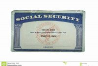 Social Security Card Template Pdf  Wesleykimlerstudio in Ssn Card Template