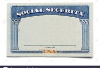 Social Security Card Template  Trafficfunnlr inside Social Security Card Template Psd