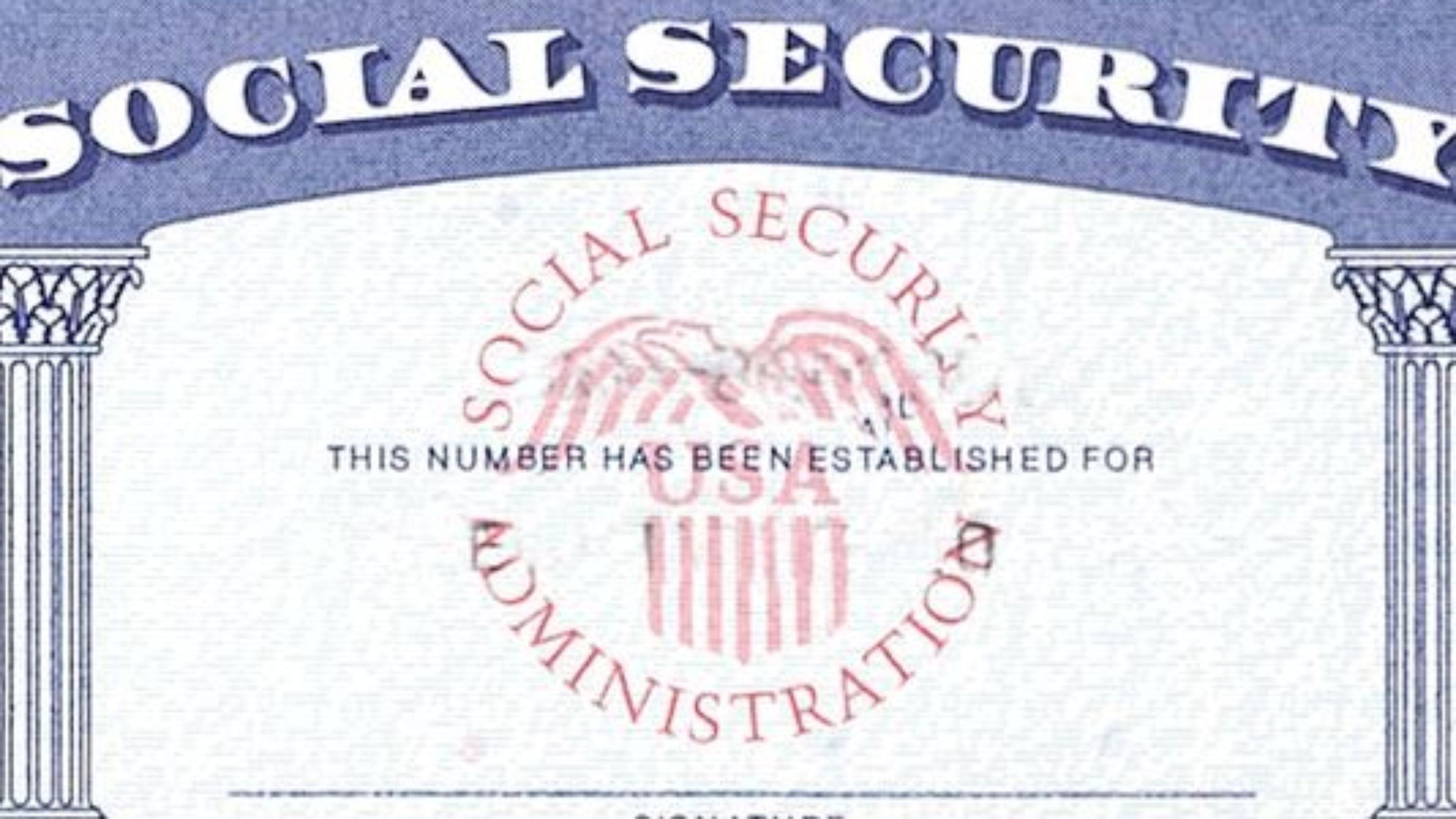Social Security Halts Effort To Collect Old Debts  Mine  Cards In Editable Social Security Card Template
