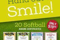 Softball Certificates And Coaching Forms  Softball Coach And intended for Softball Certificate Templates