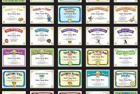 Softball Certificates  Free Award Certificates in Softball Award Certificate Template