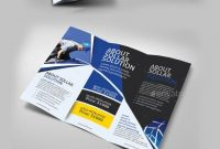 Solar Panel Trifold Double Sided  Brochures Print Templates  Ideas throughout Double Sided Tri Fold Brochure Template