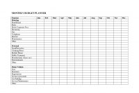 Spreadsheet Examples Free Small Business Budget Template in Free Small Business Budget Template Excel