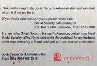 Ssn Template Ssn Template Usa Ssn Psd Template This Is A Top with regard to Editable Social Security Card Template