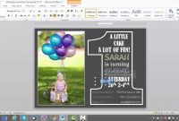 St Birthday Invitation Template For Ms Word  Youtube inside Microsoft Word Birthday Card Template