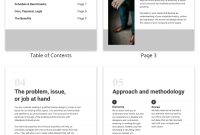 Standard Business Proposal Template  Venngage inside Standard Business Proposal Template