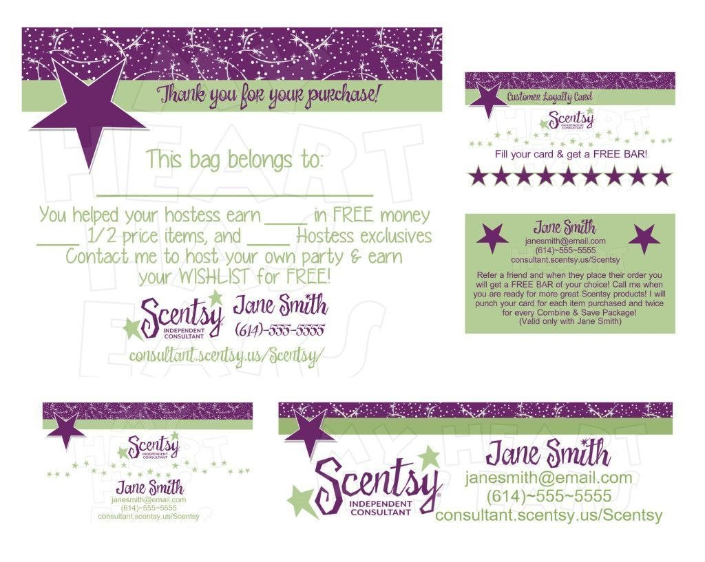 Standard Printable Scentsy Business Cards Online  Business Cards Inside Scentsy Business Card Template