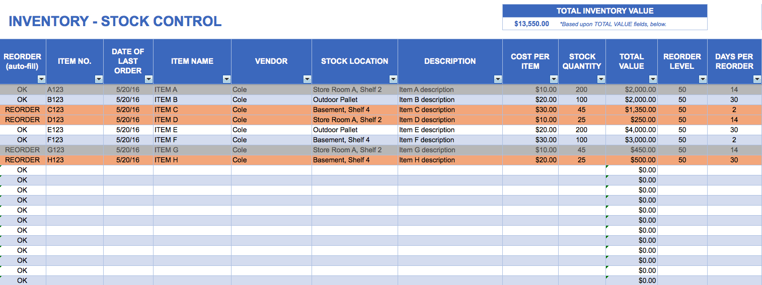 Stock Excel Format  Sansurabionetassociats Throughout Stock Report Template Excel