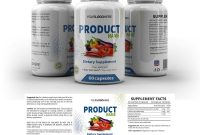 Supplement Label Template  Yupidesigns pertaining to Dietary Supplement Label Template