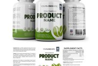 Supplement Label Template  Yupidesigns with regard to Dietary Supplement Label Template