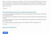 Survey Questions That Work How To Unlock Your Customers' Deepest inside Business Process Questionnaire Template