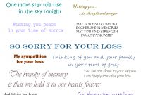 Sympathy Cards  Verses For Sympathy Cards That Express Your Deepest pertaining to Sorry For Your Loss Card Template