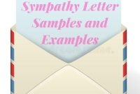 Sympathy Letter Samples And Examples  Sympathy Card Messages intended for Sorry For Your Loss Card Template