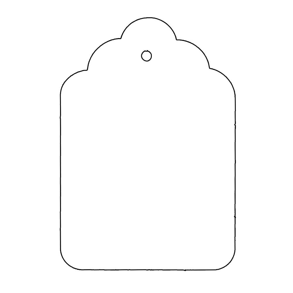 Tag Shape Template  Use These Templates Or Make Your Own Shape And In Decorative Label Templates Free