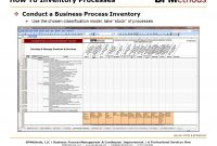 Techniques For Improving Execution Adaptability And Consistency regarding Business Process Inventory Template