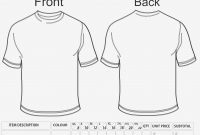 Tee Shirt Order Form – Heartimpulsar – Form Information with regard to Blank T Shirt Order Form Template
