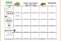 Template For School Lunch Menu – Printable Schedule Template inside Free School Lunch Menu Templates