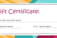 Template For Voucher  Sansurabionetassociats for Dinner Certificate Template Free