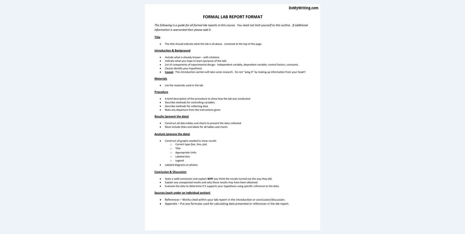 Template Formal Lab Report  Savethemdctrails With Regard To Formal Lab Report Template