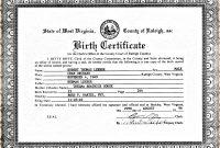 Template Ideas Birth Cirtificatee Printable Baby Certificate for Birth Certificate Template For Microsoft Word