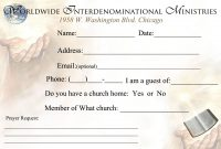 Template Ideas Church Visitor Card Word Bishop Davis Vc intended for Church Visitor Card Template Word