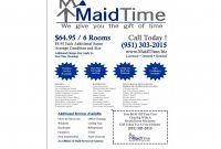 Template Ideas Cleaning Business Flyers  House Templates with Flyers For Cleaning Business Templates