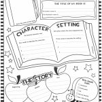 1St Grade Book Report Template