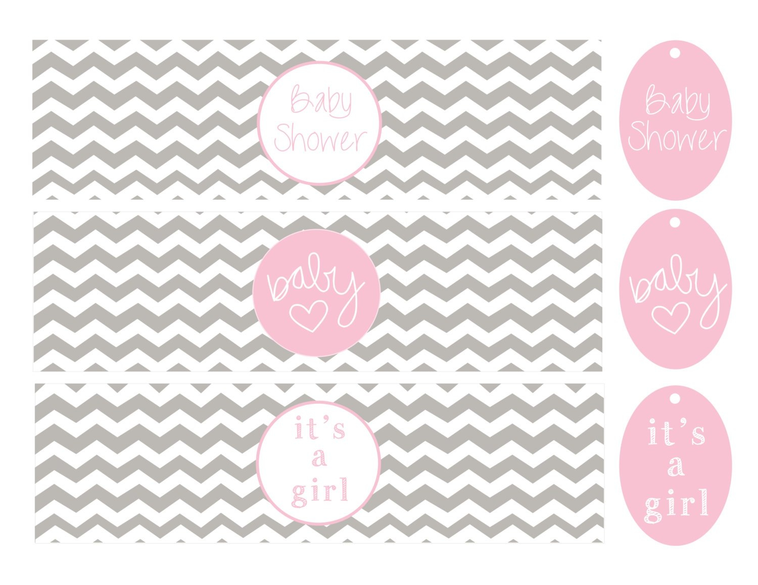 Template Ideas Free Printable Baby Shower Water Bottle Pertaining To Baby Shower Water Bottle Labels Template